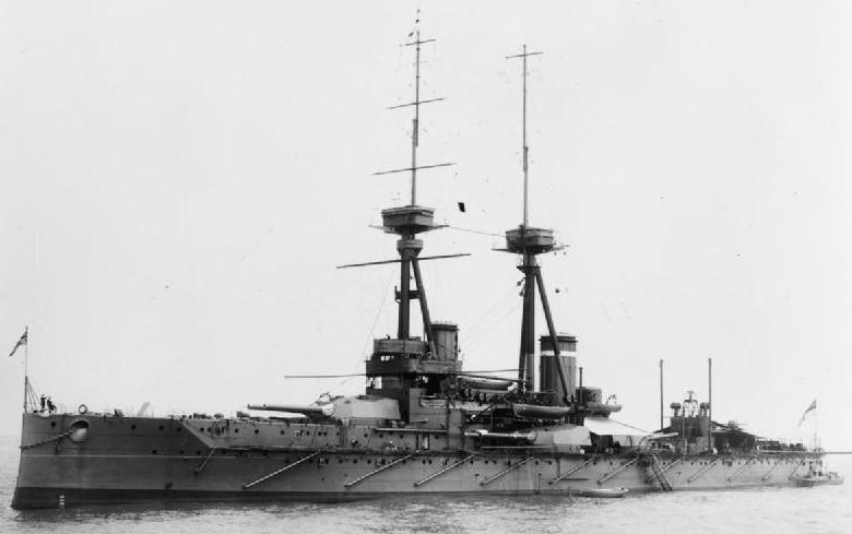 HMS Collingwood 1912