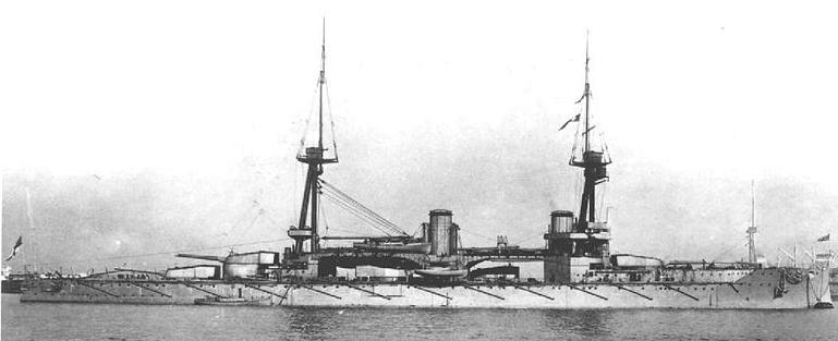 HMS Neptune 1911