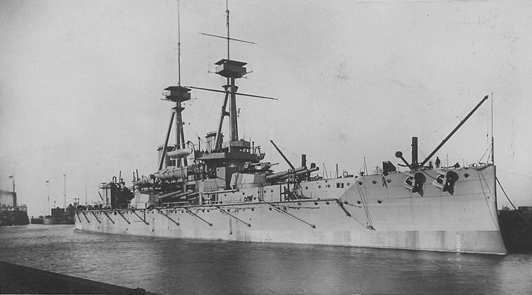 HMS Vanguard 1909