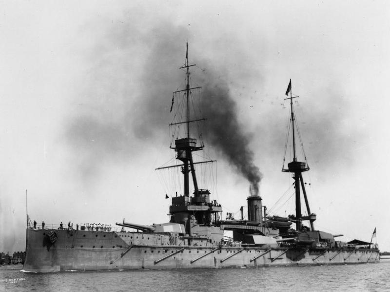 HMS Neptune 1912