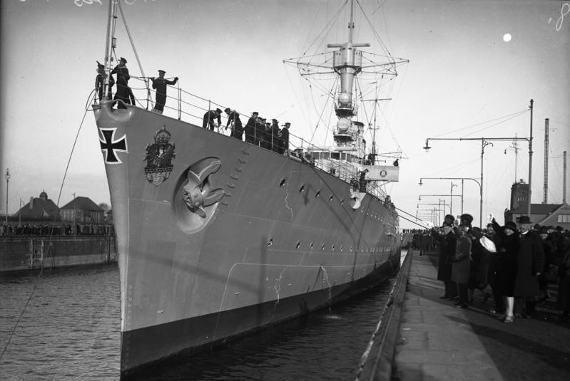 Prow Emden III at Kiel