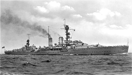 KMS Emden official photo in 1935