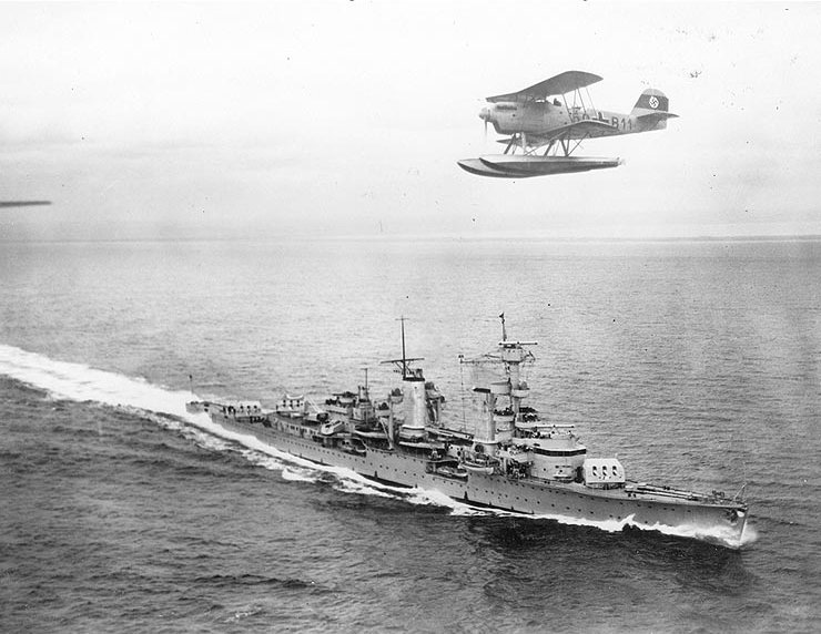 Köln with Heinkel 60