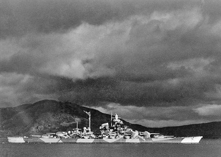 Tirpitz in the altafjord