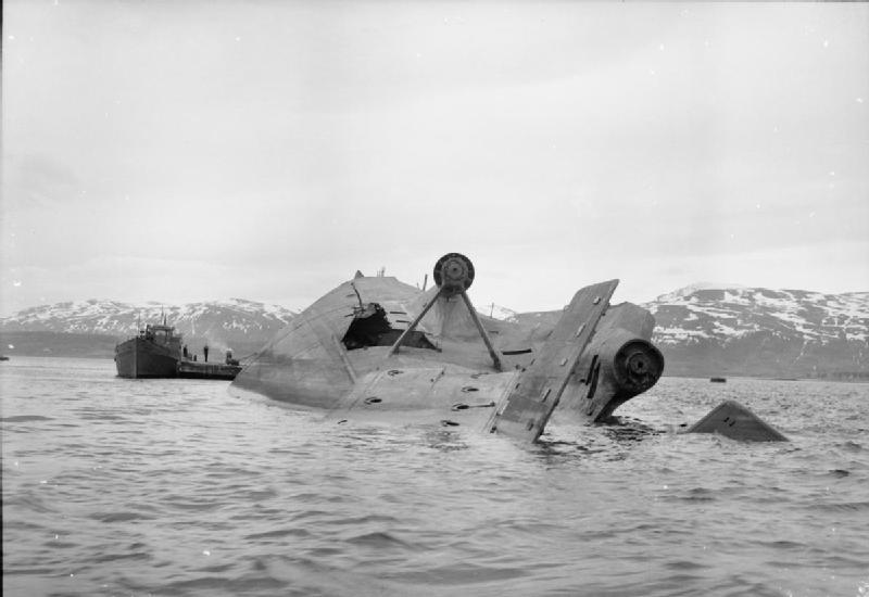Tirpitz capsized in Tromsö