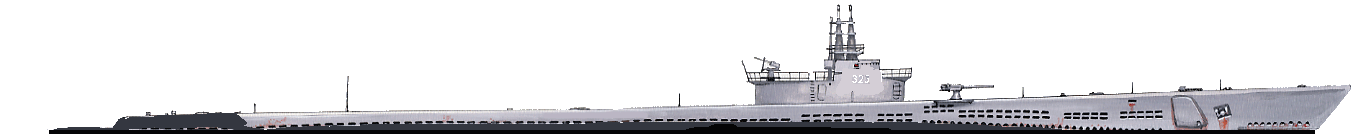 USS Tench, HD 1/400 illustration